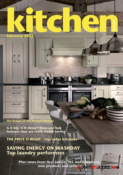 kitchen magazine kitchen journal february 2013 187 download pdf magazines