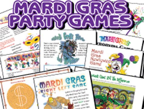 adult masquerade party games susieqtpies cafe mardi gras printables and carnival recipes