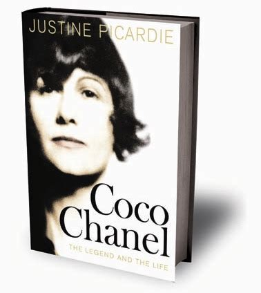 biography coco chanel book in my house reading and relaxing