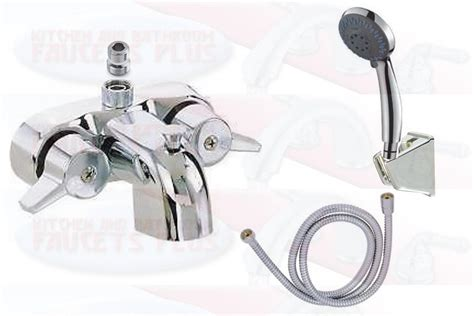 bathtub faucet diverter chrome bathroom add a shower clawfoot tub diverter faucet hand shower kit ebay