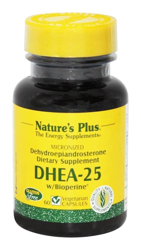 Best Seller Nature S Plus Dhea 25 Mg buy nature s plus dhea 25 with bioperine 25 mg 60