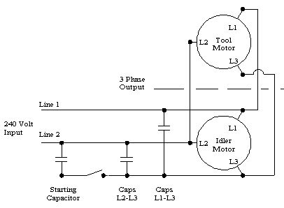 rotary phase converter wiring diagram static 3 phase converter wiring diagram efcaviation