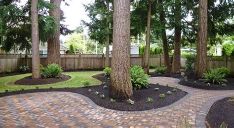 backyard makeovers before and after landscaping portfolio fabulous flower beds