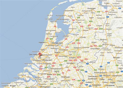 netherlands map delft delft map and delft satellite image
