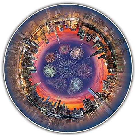 Round Table City Central Jigsaw Puzzle Puzzles Everybody 361 Circular Jigsaw Puzzles