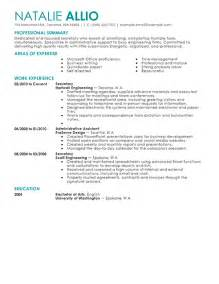 resume example 48 secretarial resume examples general