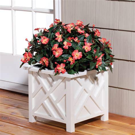 chippendale planter outdoor planter planter box