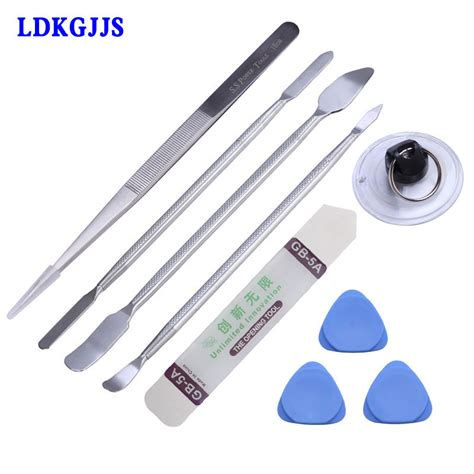 9 In 1 Repair Tools Kits Spudger Pry Screen Opening Tool Screwdriver T 1 universal mobile phone repair tools metal spudger pry opening tool for cell phone laptop tablet