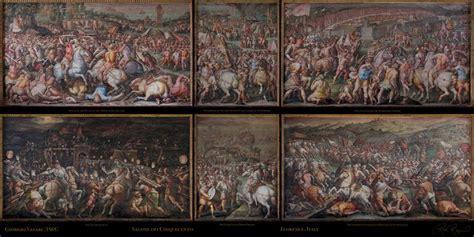 la soffitta florence vasari s battle of marciano palazzo vecchio florence