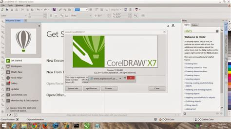 coreldraw x6 jalan tikus corel draw x7 grapics suite full keygen softwarezonecafe