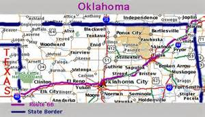 Route 66 Oklahoma Map by Route 66 Oklahoma Map Related Keywords Amp Suggestions