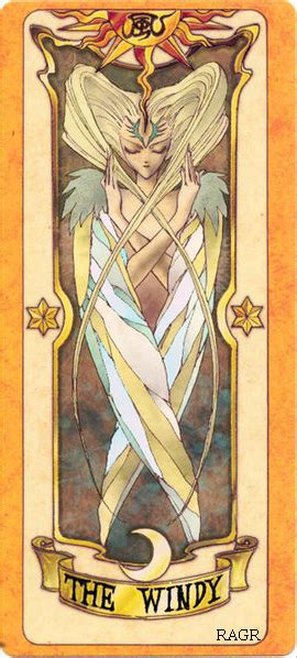 Clow Cards The Windy Template by Clow Card Colored The Windy By Renjiabaraigr On Deviantart