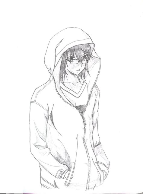 how to draw hoodies person wearing hoodie drawing sketch coloring page