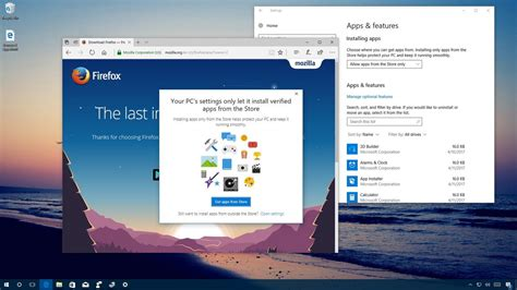 install windows 10 default apps how to block non store apps in the windows 10 creators