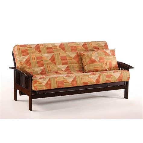 chocolate futon 100 futon traditional chocolate futon couch night