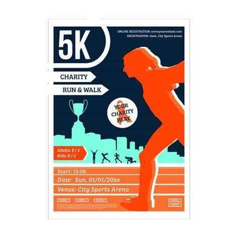 5k flyer template 25 best ideas about marathon posters on marathon marathon results