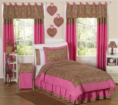 pink and brown bedding girl s pink and brown cheetah print bedding kids bedding