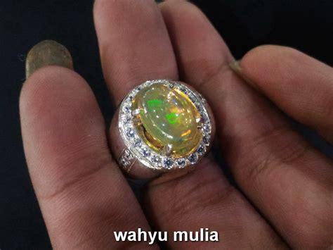Batu Opal batu cincin kalimaya opal asli kode 704