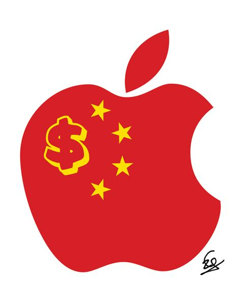 apple china apple is evil ceo tim cook is evil and so was former ceo
