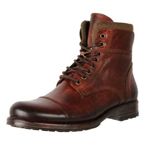 mens leather boots cheap new smith s european made leather ankle boots