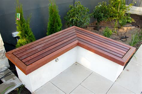 backyard bench seating outdoor bench seating adelaide outdoor kitchens