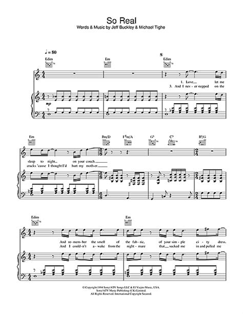 printable hallelujah lyrics jeff buckley so real sheet music by jeff buckley piano vocal guitar