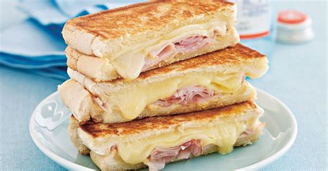 ham cheese sub sandwich pan toasted ham and cheese sandwich