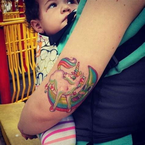 lisa frank tattoo best 3d tattoo ideas pinterest