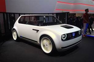 Electric Cars For Sale Honda Honda Ev Concept Retro Electric Car Due In 2019 Evo