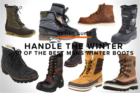 best mens winter boots 10 of the best mens winter boots feature muted