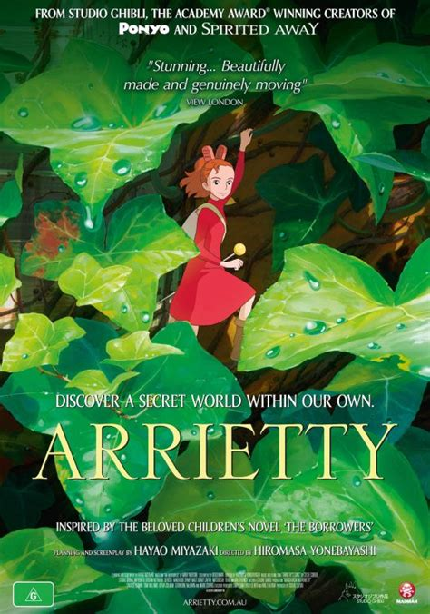 studio ghibli film arrietty movie review the secret world of arrietty flip the