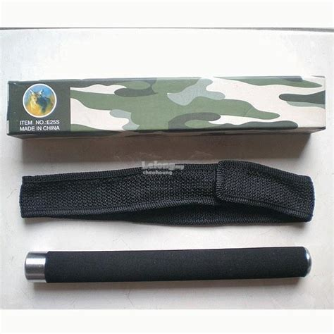 Stick Baton Fox 1 fox e25s tactical expandable steel baton stick 26 kuala