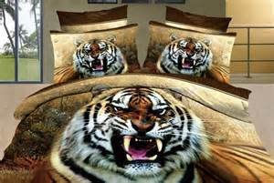 Tiger Bed Set Tiger Print Bed Sheets Promotion Shopping For Promotional Tiger Print Bed Sheets On