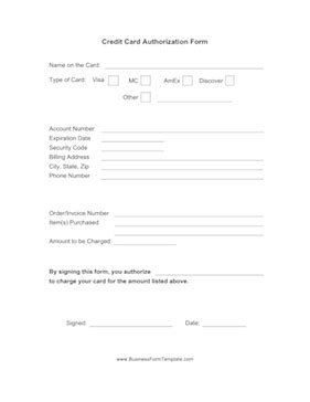 credit card payment form template excel 5 free credit card payment form templates formats