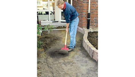 Gartenweg Pflastern Anleitung