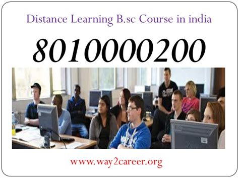 Distance Mba Courses In India by 8010000200 Distance Learning Bsc Course In India