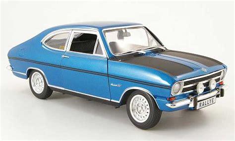 1969 opel kadett opel kadett coupe b rallye 1900 blue black 1969 revell