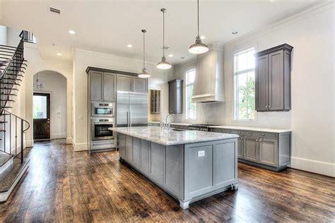 gray kitchen transitional kitchen har