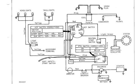deere lawn mower lt133 wiring diagram
