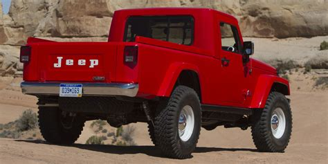 new jeep truck 2017 jeep wrangler pickup everything we know
