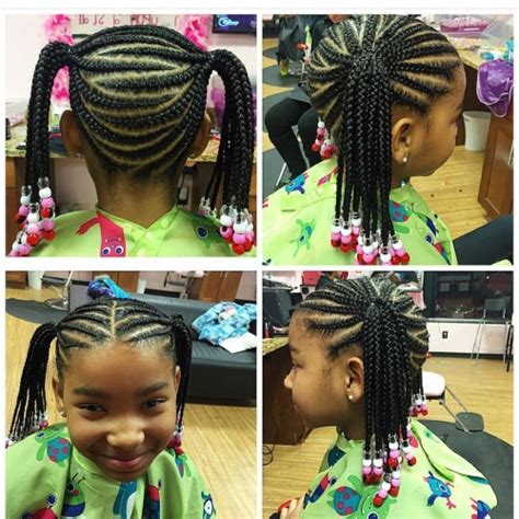 Toddler Braids Hairstyles by Toddler Braided Hairstyles With For Black