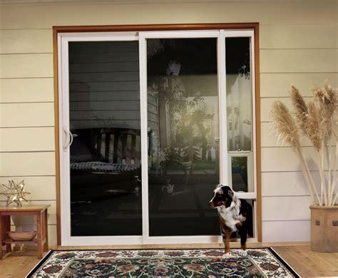 Pet Doors For Patio Doors Doors With Doggie Door World Of Windows Doors Door Sliding Glass Door