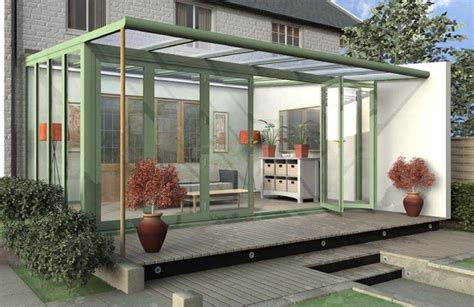 glass room additions contemporary or modern glass sunroom conservatory garden room addition serres