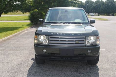 how do cars engines work 2005 land rover discovery interior lighting find used 2005 range rover hse low miles tonga green last year of bmw engine in livingston
