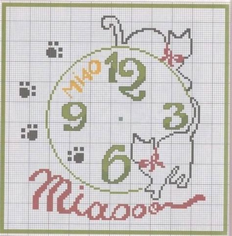 tappeti a punto croce pin by marzinotto on orologi punto croce motivi
