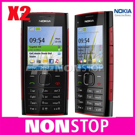 Hp Nokia X2 Java unlocked original nokia x2 00 bluetooth fm java 5mp unlocked mobile phone in mobile phones from