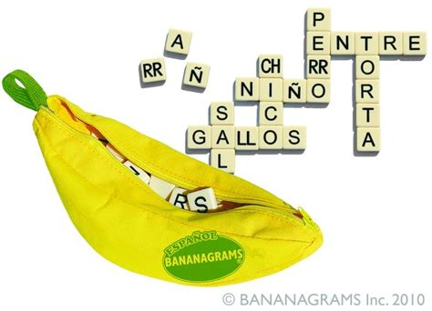 scrabble banana word bananagrams playground