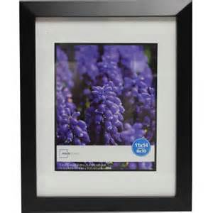 11x14 matted frame mainstays wide picture frame 11x14 matted to 8x10