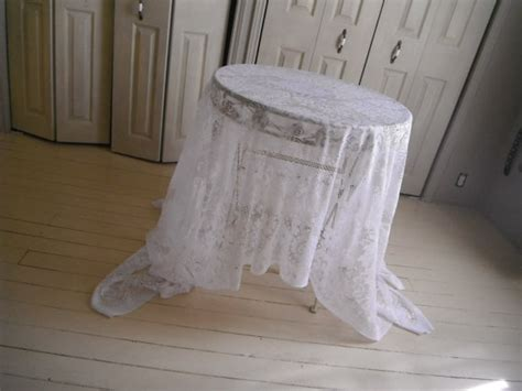 75 best shabby tablecloths images on pinterest