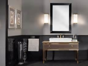 Lutetia l13 luxury art deco italian bathroom vanity brown